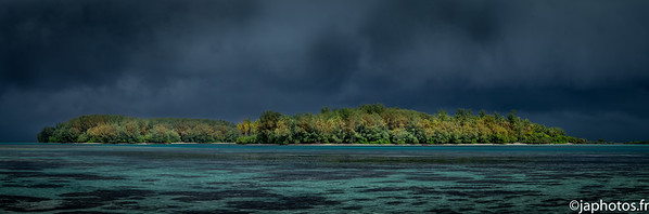 Just Before a Tropical Shower, Moorea, French Polynesia