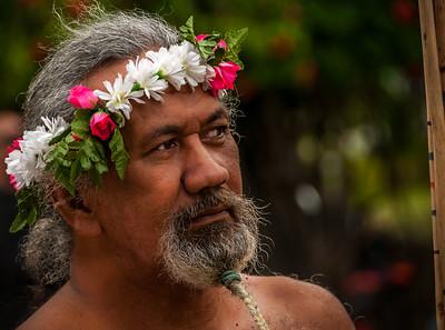 Lanceur de javelot, Heiva 2016, Tahiti, French Polynesia