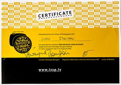 Certificate ISSP
