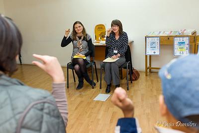 """Conferinta """"Ceva de Spus"""" organizata de Acta Autism si Romania Connect, Pitesti, Muzeul Judetean Arges  27-28 Octombrie 2012, imagini: Liviu Dumitru"""