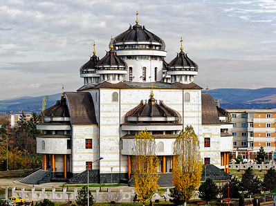 Orthodox Cathedral from Mioveni, Romania