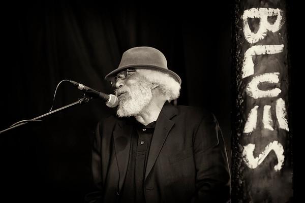 Shad Harris at Delta Blues Festival Benefit at Armando's
