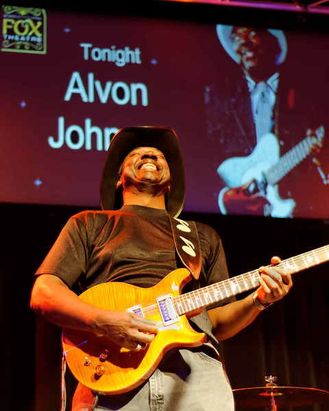 Alvon Johnson at Club Fox Blues Jam