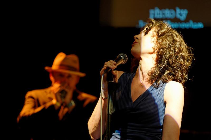 Ruth Gerson and John Nemeth at Club Fox Blues Jam