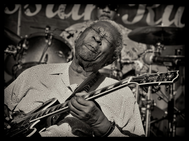 BB King at Russian RIver Blues Festival