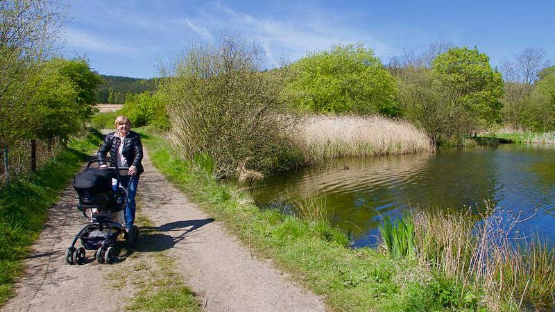 Ideálne miesto na prechádzku - od Boosbeck smerom na západ
