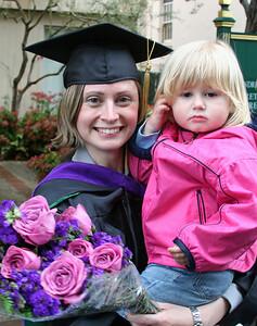 Daniela and Elizabeth at USF Law Graduation