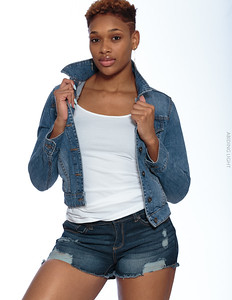 Jeans Shorts and Jacket-3