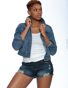 Jeans Shorts and Jacket-6