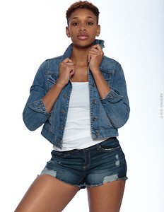 Jeans Shorts and Jacket-5