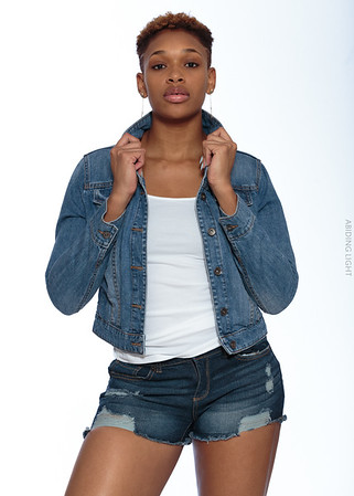 Jeans Shorts and Jacket-2