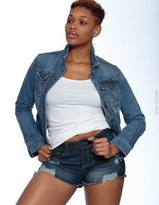Jeans Shorts and Jacket-31