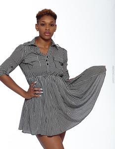 Short Gray Dress-17