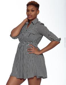Short Gray Dress-8
