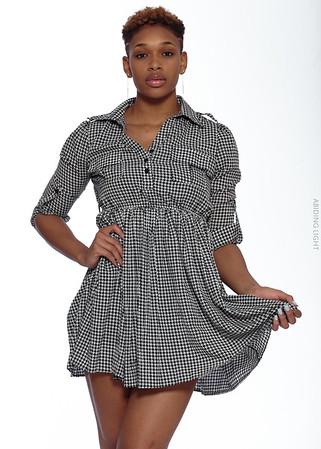 Short Gray Dress-11