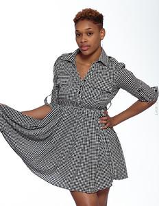 Short Gray Dress-22