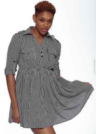 Short Gray Dress-1