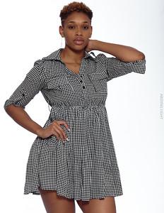 Short Gray Dress-9