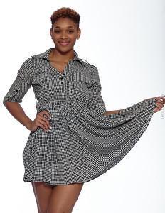 Short Gray Dress-13