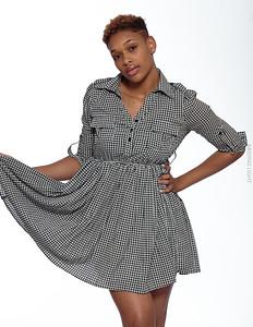 Short Gray Dress-24