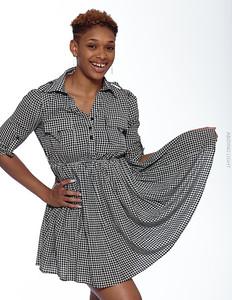 Short Gray Dress-20