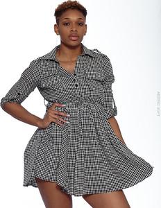 Short Gray Dress-10