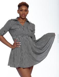 Short Gray Dress-16