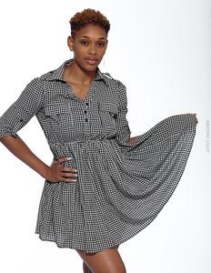 Short Gray Dress-19