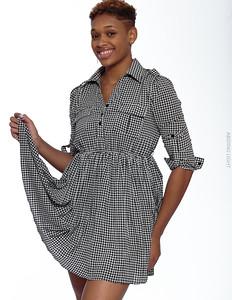 Short Gray Dress-4