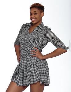 Short Gray Dress-7