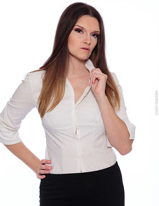 White Business Shirt-13