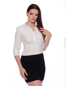 White Business Shirt-34