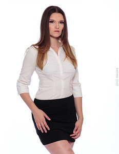 White Business Shirt-30