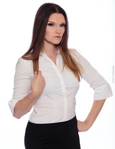 White Business Shirt-21