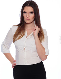 White Business Shirt-15