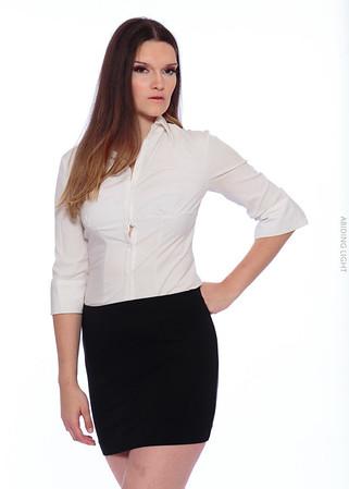 White Business Shirt-42