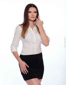 White Business Shirt-33