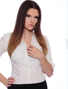 White Business Shirt-11