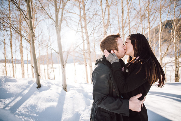 Orton Engagement | Engagement Photos in Crested Butte, CO