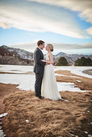 Wedding Photography in Roxborough State Park, Colorado