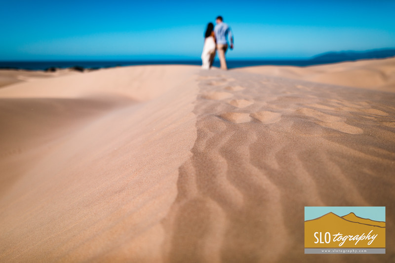 Gladys+Colin Engaged ~ Oceano Dunes_018