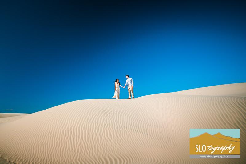 Gladys+Colin Engaged ~ Oceano Dunes_036
