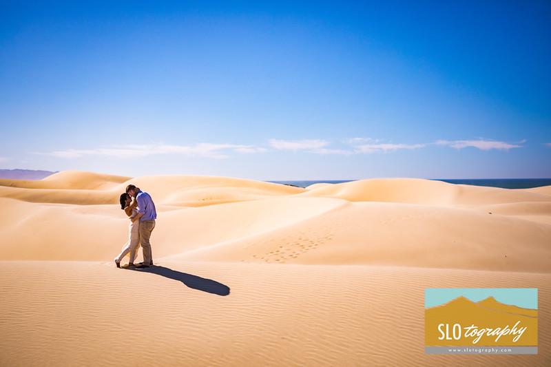 Gladys+Colin Engaged ~ Oceano Dunes_042