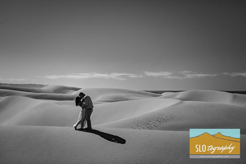 Gladys+Colin Engaged ~ Oceano Dunes_043