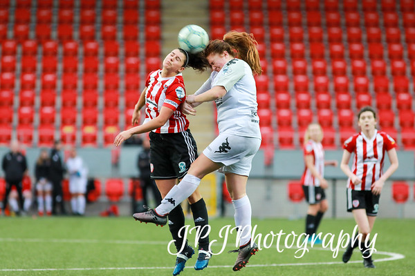 DerryCityFC Women 1- 3 Crusaders Strikers 5-6-19