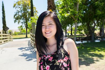 Portrait. Fremont Central Park - Fremont, CA, USA