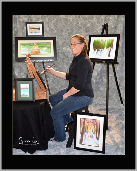 Artist's Portraits by Sandra Lee Photography Studio & Gallery <br /> Need pictures for your art portfolio or business cards? <br /> <br /> 2262 US 31 North <br /> Petoskey, Mi 49770 <br /> 231-622-2066