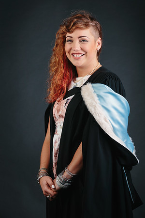 Studio graduation photos