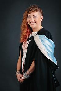 Studio graduation photos