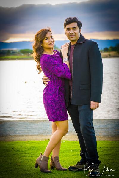 Pre-wedding photoshoot with Gayathri and Abhishek